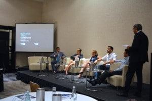 blockchain AI conference panel discussion